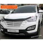 [EUROST] Hyundai Santa Fe DM - EURO GUARD Molded Hood Guard