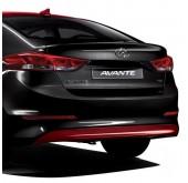 Молдинг заднего бампера TUIX - Hyundai Avante AD (MOBIS)