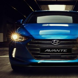 [MOBIS] Hyundai Avante AD - TUIX Style Pack Series Front Skirt Set