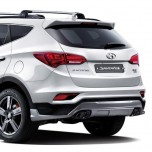 [MOBIS] Hyundai Santa Fe The Prime - TUIX Rear Skirt Kit