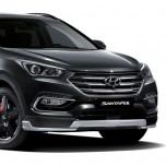 Передняя юбка TUIX - Hyundai Santa Fe The Prime (MOBIS)