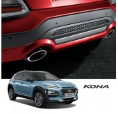 [MOBIS] Hyundai Kona Flux - TUIX Rear Skirt Kit
