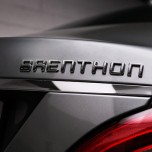 [Brenthon] Brenthon Universal Lettering Emblem Dark Chrome (BEM-A109)