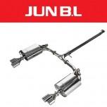 [JUN,B.L]  Hyundai YF Sonata T-GDi - EVC Twin Rear Section Muffler (JBLH-20YFTE)