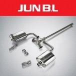 [JUN,B.L]  Hyundai 5G Grandeur HG - Twin Rear Section Muffler (JBLH-24HGFR)