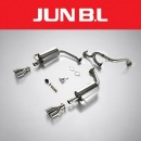 [JUN,B.L] KIA K3 - Twin Rear Section Muffler (JBLK-16K3NR)