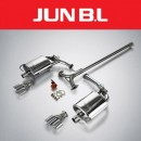 [JUN,B.L] KIA K5 TF 2.0MPI / 2.4GDi - EVC Twin Rear Section Muffler (JBLK-20K5NE)