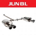 [JUN,B.L]  KIA All New K5 JF T-GDi - EVC Twin Rear Section Muffler (JBLK-20NK5TE)
