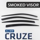 [KYOUNG DONG] Chevrolet Cruze 2017 - Smoked Window Visor Set (K-901-163)