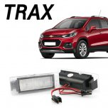 [DK Motion] Chevrolet Trax - Number Plate LED Lamp