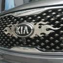 [AUTORIA] KIA All New Sorento UM - SS Flame Type Radiator Grille Insert