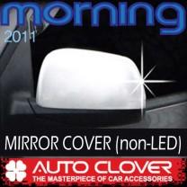 [AUTO CLOVER] KIA All New Morning - Side Mirror Chrome Molding Set (B725) - Non-LED Type