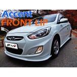 [ZIN] Hyundai New Accent - MODERATO Front Lip