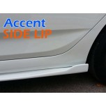 [ZIN] Hyundai New Accent - MODERATO Side Lip Kit