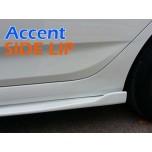 [ZIN] Hyundai New Accent - MODERATO Side Lip Kit