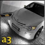 [JSW] SsangYong Actyon - A3 Front Aeroparts Body Kit