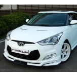 [F3S] Hyundai Veloster - Body Kit Aeroparts Front / Side Set