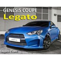 [ADRO] Hyundai The New Genesis Coupe - LEGATO Full Body Kit Aeroparts Set