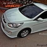 [ZIN] Hyundai New Accent - MODERATO Aeroparts Body Kit