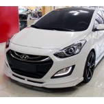 [F3S] Hyundai New i30 - Body Kit Aeroparts Front / Side Set