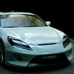 [CUPER] Hyundai Genesis Coupe - Front Bumper Aeroparts Body Kit