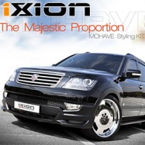 [IXION]  KIA Mohave - Front Add-on Styling Kit