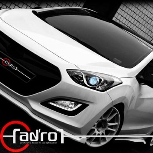 aero parts adro hyundai new i30 full body kit aeroparts. Black Bedroom Furniture Sets. Home Design Ideas