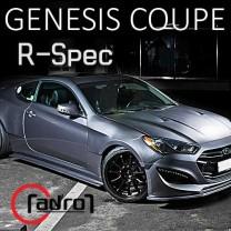 [ADRO] Hyundai The New Genesis Coupe - R-SPEC Full Body Kit Aeroparts Set