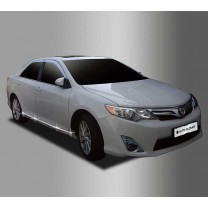 [AUTO CLOVER] Toyota Camry - Side Skirt Accent Chrome Molding Set (B766)