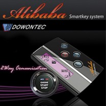 [DOWONTEC] KIA K7 - Alibaba ALI-970B 2WAY Smart Key Engine Start System