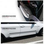 Боковые подножки - BMW X1 (DESIGNCAR)