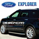 [DESIGNCAR] Ford Explorer​ - Trapezoid Pattern Side Running Boards Steps