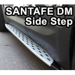 [POLBON] Hyundai Santa Fe DM - Valance Side Running Board Steps Set