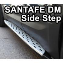 [POLBON] Hyundai Santa Fe DM - Valance Side Running Board Steps Set