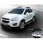 [GM KOREA] Chevrolet Trax - X5 Style Side Running Boards Steps