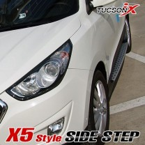 [TOMATO] Hyundai New Tucson iX (ix35) - X5-Style Side Running Board Steps