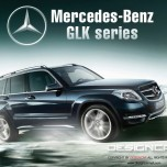 [DESIGNCAR] Mercedes-Benz GLK (X204) - X5-Style Side Running Boards Steps