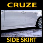 [MORRIS] Chevrolet Cruze / Lacetti Prermiere - Side Skirt Aeroparts Set