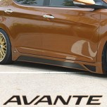 [MYRIDE] Hyundai Avante MD - Side Skirts Set