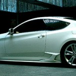 [CUPER] Hyundai Genesis Coupe - Side Skirts Package