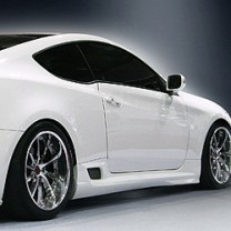 [IXION] Hyundai Genesis Coupe - Styling Side Skirts Kit