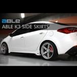[ABLE] KIA K3 - Side Skirts Set