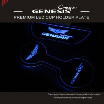 [CHANGE UP] Hyundai Genesis Coupe - LED Cup Holder & Console Plate Set