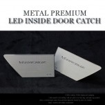 [CHANGE UP] Hyundai Veracruz​ - Metal Premium LED Inside Door Catch Plates Set