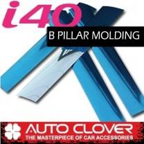[AUTO CLOVER] Hyundai i40 - PVC B Pillar Molding (B157)