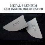 [CHANGE UP] Hyundai i30​ - Metal Premium LED Inside Door Catch Plates Set