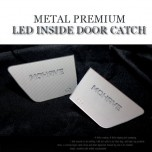 [CHANGE UP] KIA Mohave​​​ - Metal Premium LED Inside Door Catch Plates Set