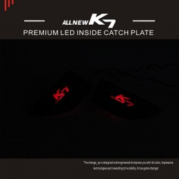 [CHANGE UP] KIA All New K7​​​ - Metal Premium LED Inside Door Catch Plates Set