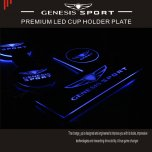 [CHANGE UP] Genesis G70 - LED Cup Holder & Console Plate Set