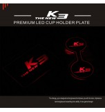 LED-подсветка подстаканников - KIA The New K3 (CHANGE UP)